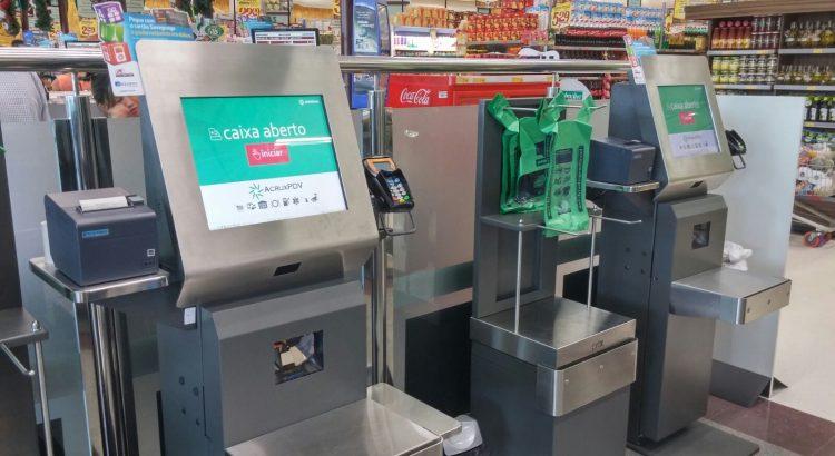 automação de processos no supermercado