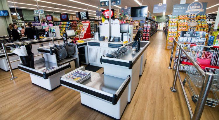 otimizar a frente de caixa do supermercado